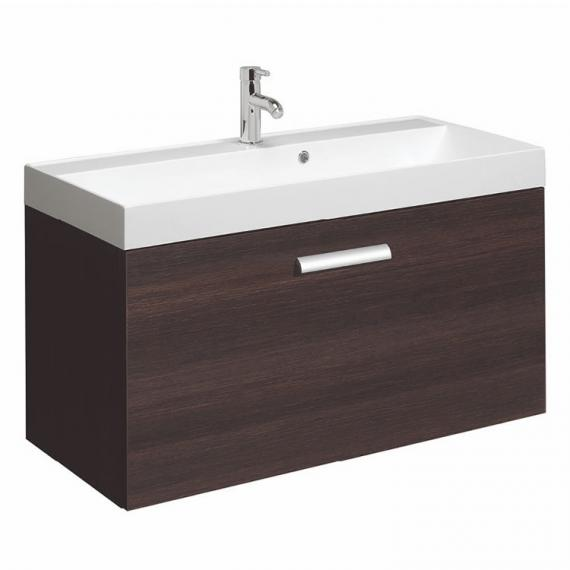 Bauhaus Design Plus 100 Panga Drawer Unit & Marble Basin
