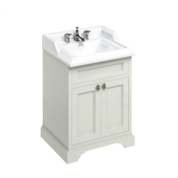 Burlington Sand 650mm Freestanding Unit & Classic Basin