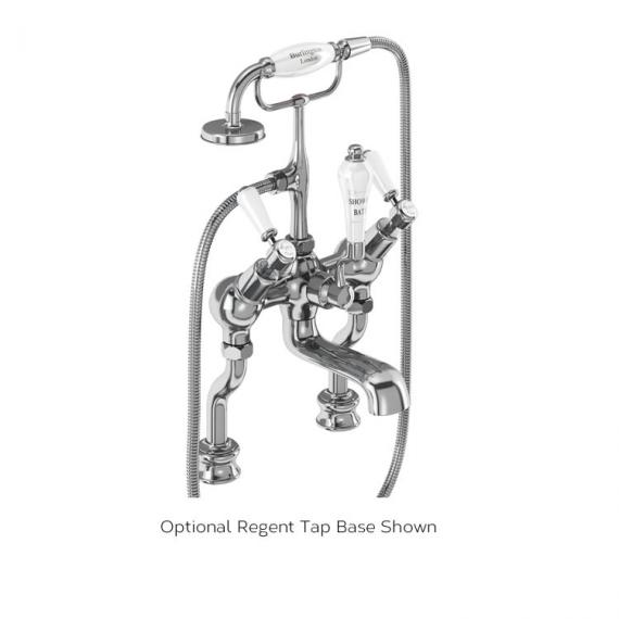Burlington Kensington Angled Bath Shower Mixer Regent Tap Base Image
