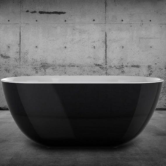Charlotte Edwards Mayfair Black 1500 Freestanding Bath