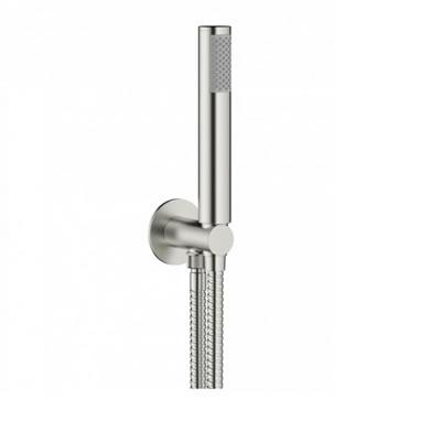 Crosswater Mike Pro Brushed Stainless Steel Shower Kit