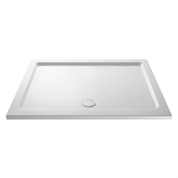 Hudson Reed Pearlstone Rectangular 1400mm x 700mm Shower Tray Image 1