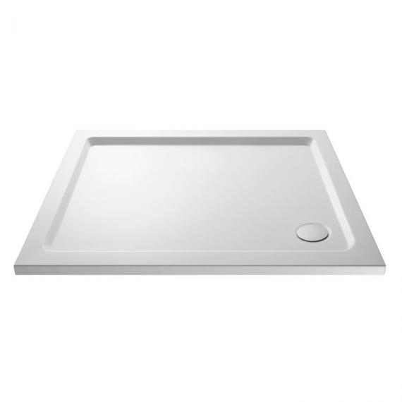 Hudson Reed Pearlstone Rectangular 1000mm x 800mm Shower Tray Image 1