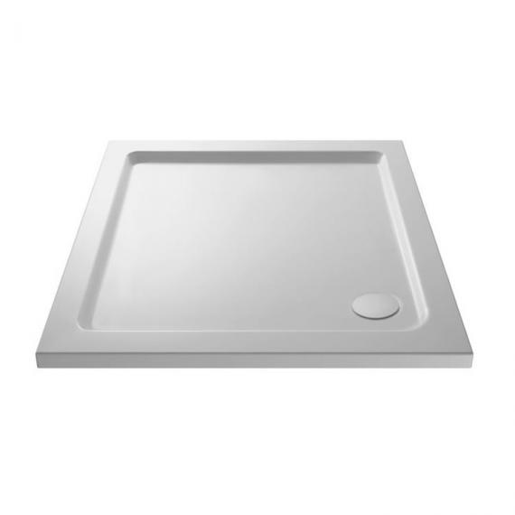 Hudson Reed Pearlstone Square 800mm x 800mm Shower Tray Image 1