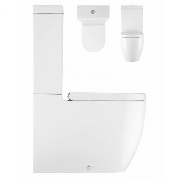 Bauhaus Stream II Close Coupled WC, Cistern & Seat