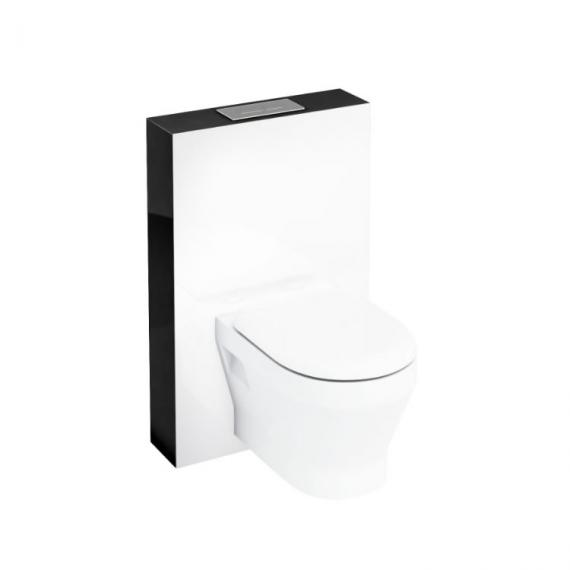 Aqua Cabinets Black Tablet WC for Wall Hung WC