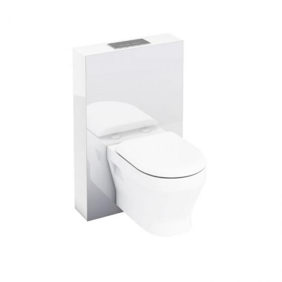 Aqua Cabinets White Tablet WC for Wall Hung WC
