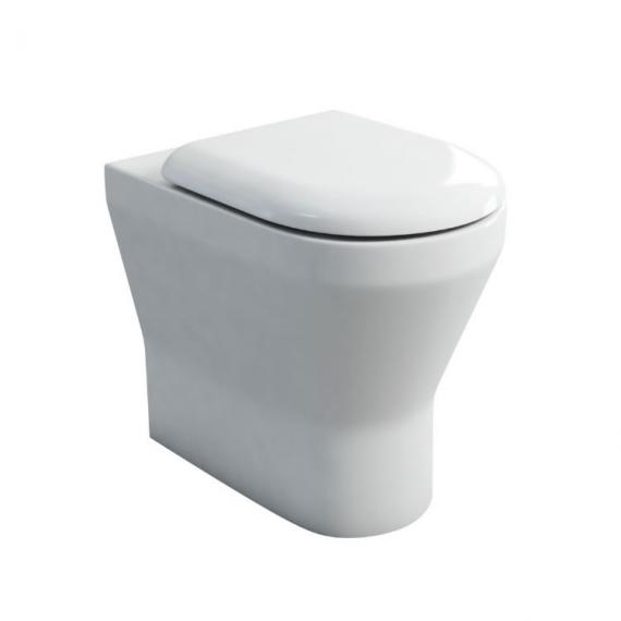 Britton Bathrooms Tall Back To Wall WC & Seat