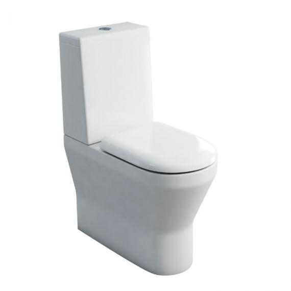 Britton Bathrooms Tall Close Coupled WC & Seat