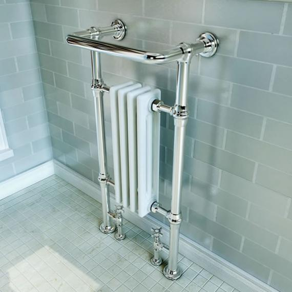 Traditional Small Heated Towel Rail Fast Delivery