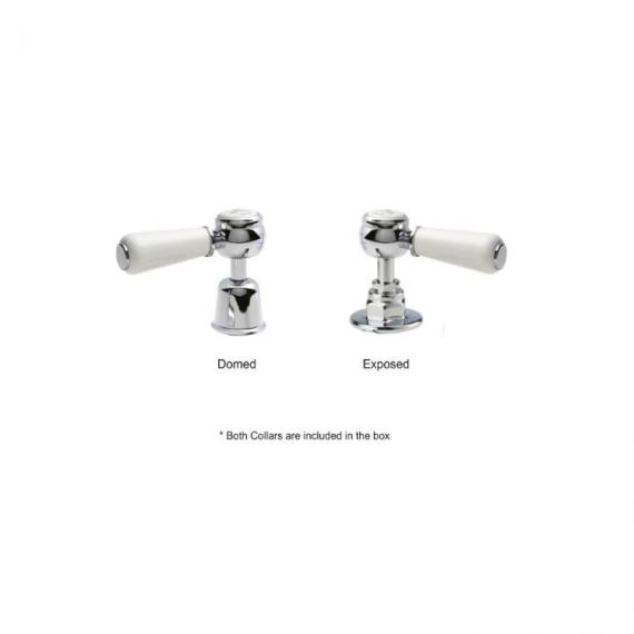 BC Designs Victrion Lever Mono Basin Mixer Inc Waste