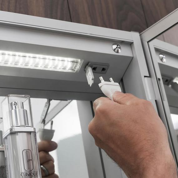 mirror cabinet with shaver socket | dance-drumming