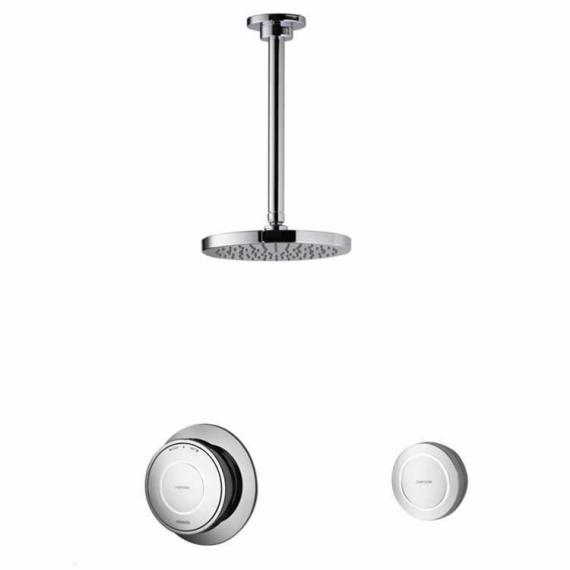 Aqualisa Rise Digital Concealed Valve with Ceiling Shower Head