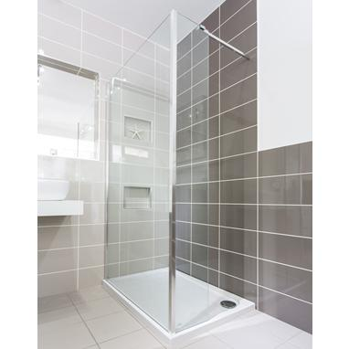 Walk In Shower Enclosure & Tray - Arbella