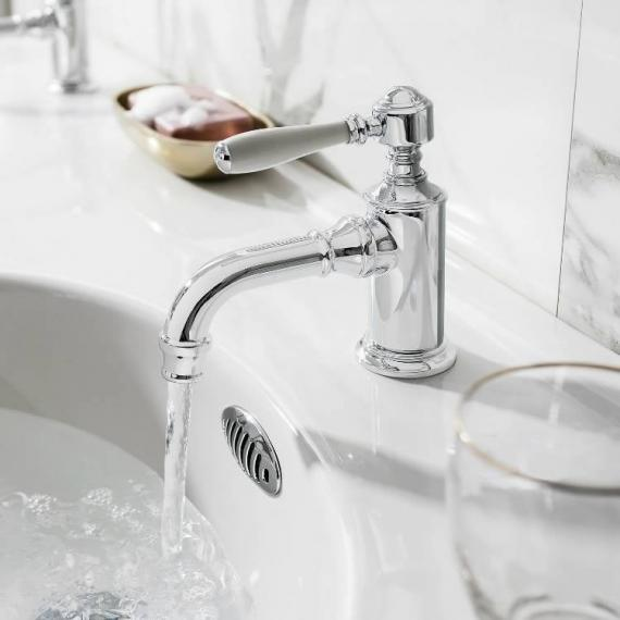 Arcade Chrome Single Lever Mono Basin Mixer Tap with Choice of ...