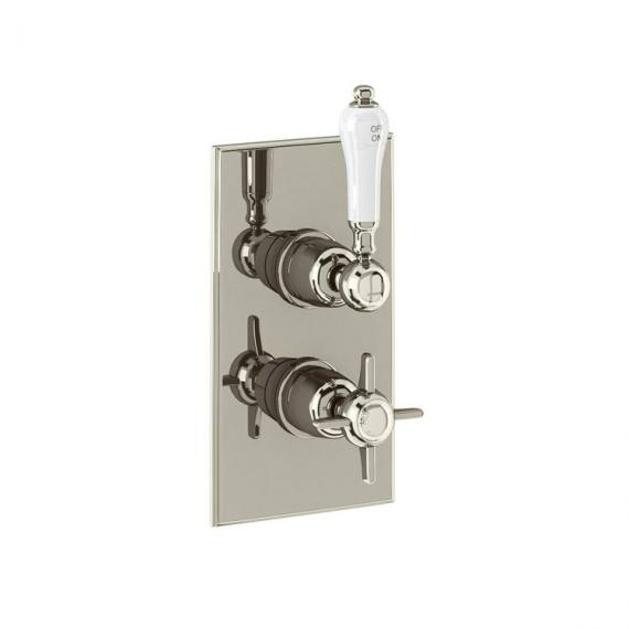 Arcade Trent Nickel Concealed Thermostatic Shower Valve