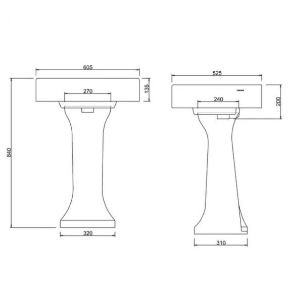 Arcade Full Pedestal Specification
