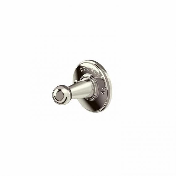 Arcade Nickel Single Robe Hook
