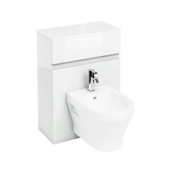 Aqua Cabinets Bidet Unit for Wall Hung Bidet with Worktop