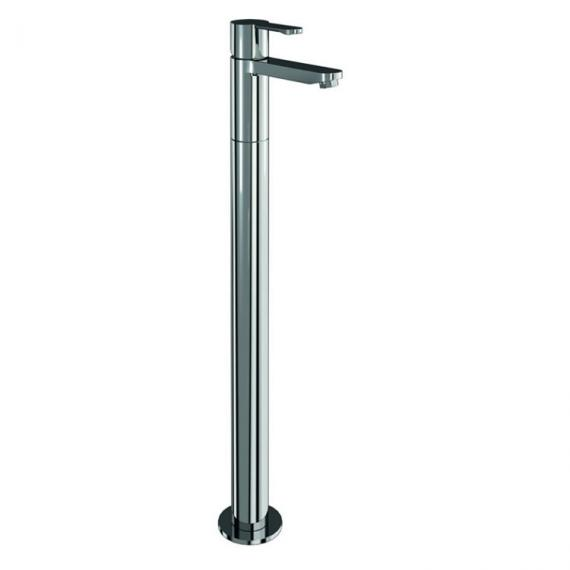 Clearwater Crystal Single Lever Bath With Legs