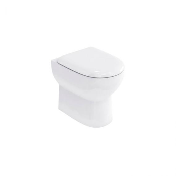 Britton Bathrooms Compact Back to Wall WC & Seat
