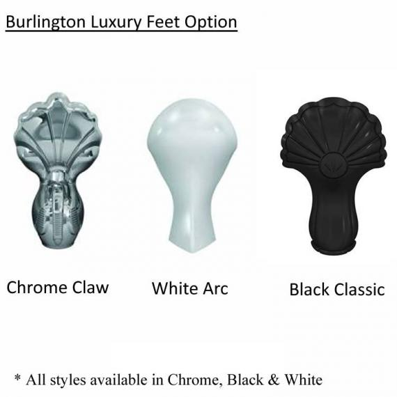 Burlington Luxury Bath Feet Option