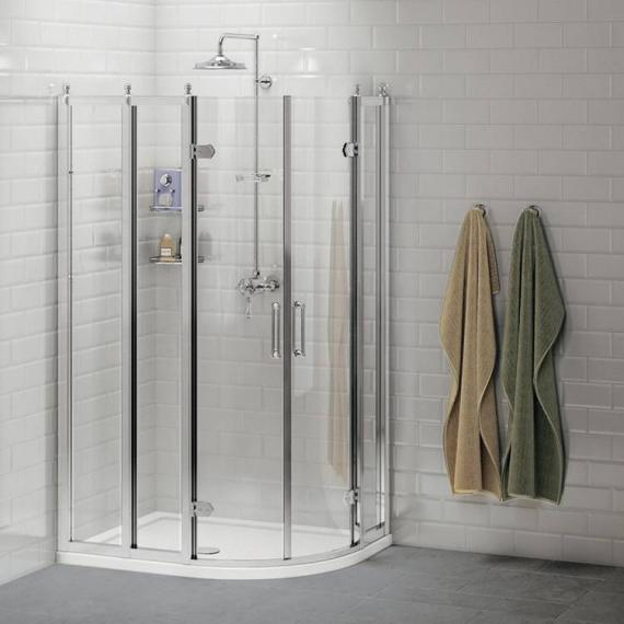 Burlington Offset Quadrant Shower Enclosure