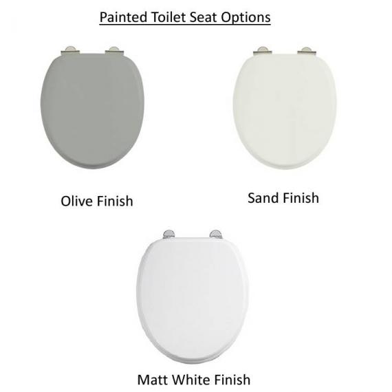 Burlington Toilet Seat Option