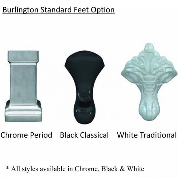Burlington Standard Bath Feet Option