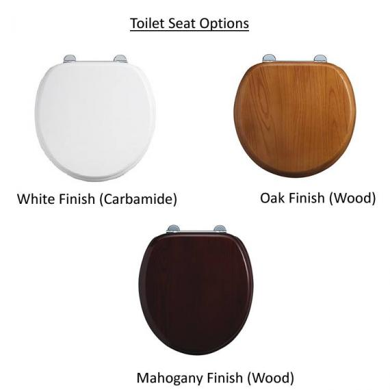 Optional Burlington Soft Closing Toilet Seat