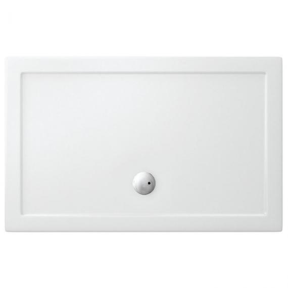 Simpsons 1700 x 1000mm walk in 35mm shower tray waste for 1700 high shower door