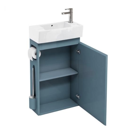 Aqua Cabinets Ocean All In One Cloakroom Unit & Basin