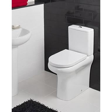 Rak Compact Deluxe Rimless Close Coupled Wc (Closed Back