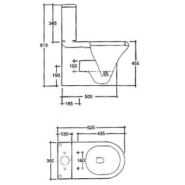 Ariston Temprature Sensor 61314955 likewise Burlington Windsor 1500 Freestanding Bath P 15110 furthermore Showerenclosuresdirect co together with Pura Arco Back To Wall Toilet And Seat also Rak  pact Deluxe Btw Close Coupled Toilet. on complete shower bath suites