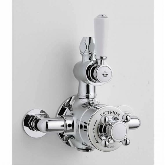 BC Designs Victrion Twin Exposed Shower Valve