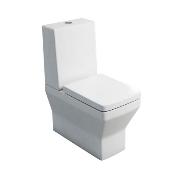 Britton Bathrooms Cube S20 BTW Toilet, Cistern & Seat