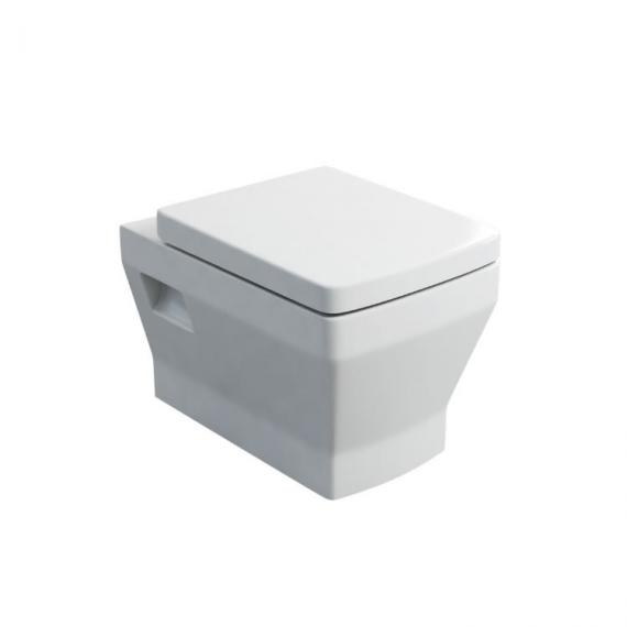 Britton Bathrooms Cube S20 Wall Hung WC and Seat