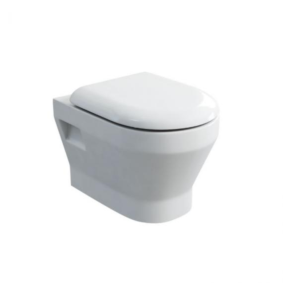 Britton Bathrooms Curve Wall Hung WC & Seat