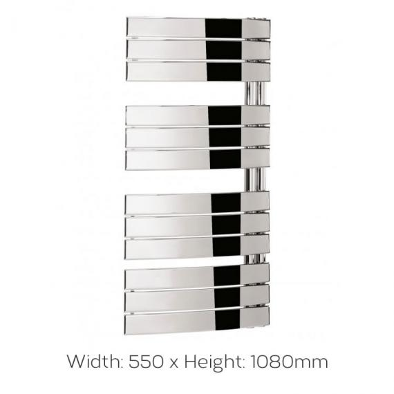 Bauhaus Essence 550x1080 Towel Rail