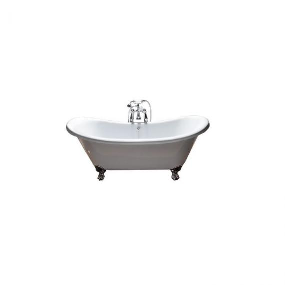 BC Designs Excelsior 1780mm White Acrylic Bath with Ball & Claw Feet