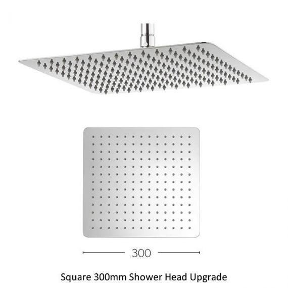 Crosswater Square 300mm Shower Head Upgrade