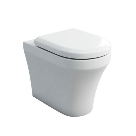 Britton Bathrooms Fine Back To Wall WC and Seat
