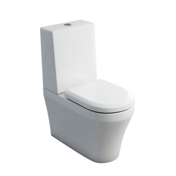 Britton Bathrooms Fine Close Coupled WC, Cistern and Seat