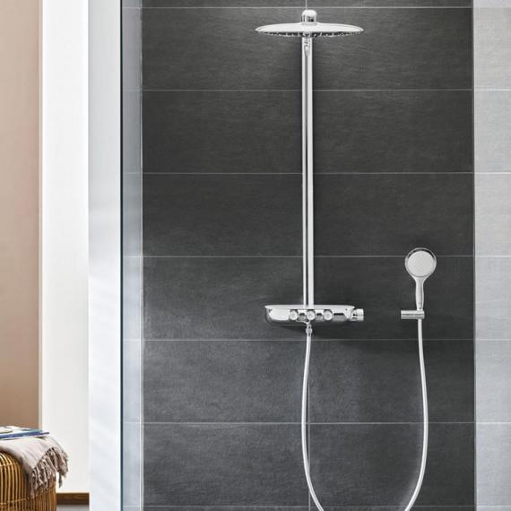 grohe rainshower smartcontrol with thermostat shower. Black Bedroom Furniture Sets. Home Design Ideas