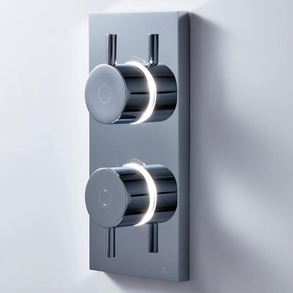 Crosswater MPRO Dual Outlet Digital Bath / Shower Valve with Processor - High Pressure
