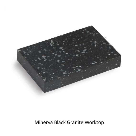 Burlington Minerva Black Granite Worktop
