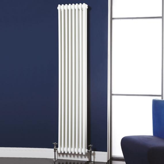 Phoenix Nicole White Tall Column Radiator Sanctuary