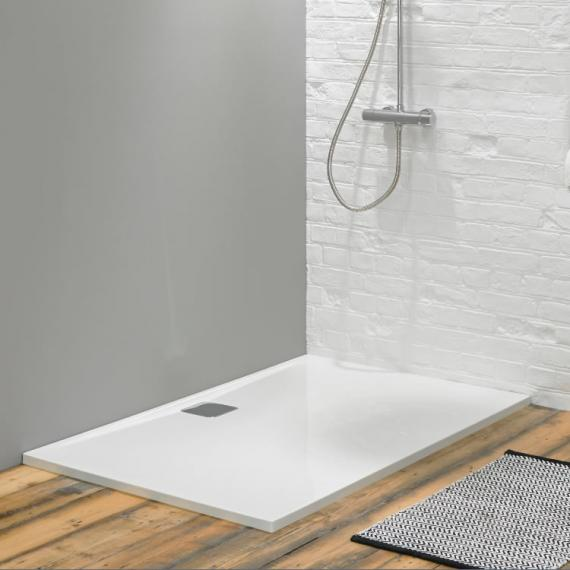 Blu-Gem2 1000 x 800mm Rectangular 25mm Stone Resin Shower Tray