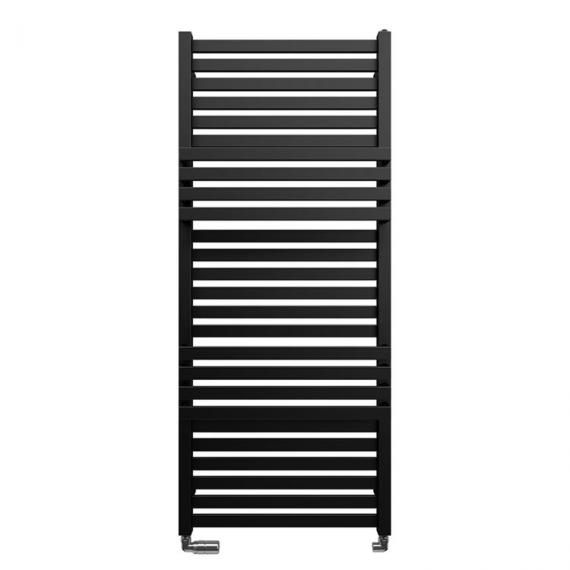 Bauhaus Seattle 500 Metallic Black Matte Towel Rail
