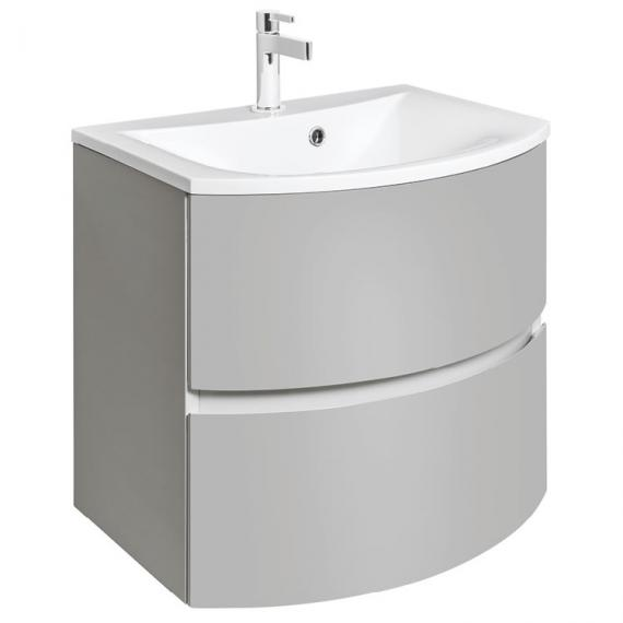Bauhaus Svelte Storm Grey Matt 60 Vanity Unit and Basin